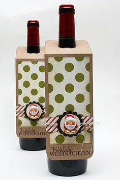 #Wein dekorativ und individuell verschenken #diy #Weinkultur