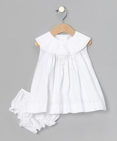 white but so cute for evie