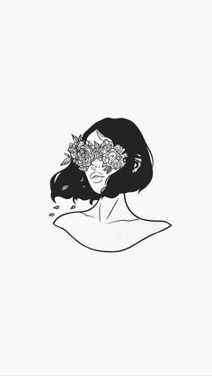 Drawing Flowers Illustration Inspiration Ideas For 2019 Art Inspo, Inspiration Art, Art And Illustration, Illustrations, Art Sketches, Art Drawings, Tattoo Drawings, Iphone Wallpaper Pinterest, Art Du Croquis
