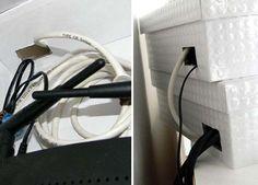 Ideas For Hiding Eyesores In Your House & House Organization Ideas