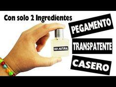 DIY | Pegamento Transparente 100% Casero con solo 2 ingredientes - Manualidades super fáciles - YouTube
