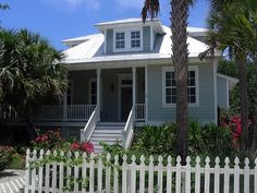 old florida style architecture | Florida beach house: a blend of cracker, Charleston and Caribbean ...