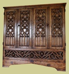 change main image to oak tv cabinet gothic style with tv extended for viewing tv cupboard tv cabinets pinterest oak tv cabinet tv cabinets and tv