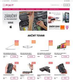 Tvorba a prenájom eshopov - Shoptet.sk Macbook Air, Iphone