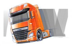 New DAF XF - Design Sketch