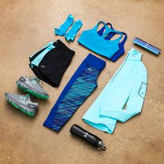Under Armour Fly-By Collection. Get ready to break your own running records.