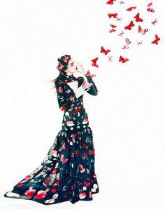 Fall's Bloom: New York Magazine September 2016 by Erik Madigan Heck - Alexander McQueen
