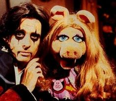 Alice Cooper & Miss Piggy