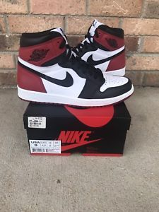 huge discount 19b3a b8306 Nike Air Jordan 1 Retro High OG Black Toe