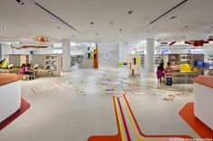 Queens Central Library, Children's Library Discovery Center by 1100 Architect