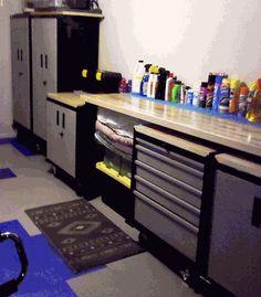 6 Piece Modular Sandstone Garage Organization