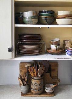 Where I Cook: Stylist Anne Parker - Bohemian Home Kitchen Bohemian Kitchen, Bohemian House, Bohemian Interior, Kitchen On A Budget, New Kitchen, Kitchen Decor, Interior Exterior, Interior Design Kitchen, Cocinas Kitchen