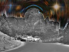 Beautiful Starry Landscape  Augusta Stylianou