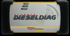 Caixa, Capa Protetora e Membra DieselDiag - Chiptronic