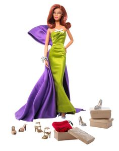 Anemone Barbie Doll by Christian Louboutin