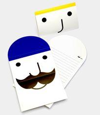 Smiley Penpal Card Set