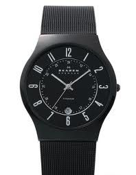 Black Mesh Titanium Men's Watch 233XLTMB