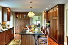 Craftsman Kitchen - Crown Point Cabinetry - Arts & Crafts Homes and the Revival