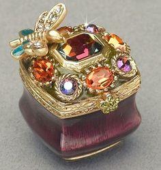 """""""Chrisala"""" Jeweled Box"""