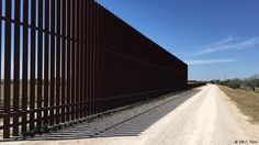 The fence on the US-Mexican border