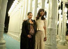 Pin for Later: Die Stars hatten sich richtig in Schale geworfen für die LACMA Gala Kim Kardashian und Naomi Campbell