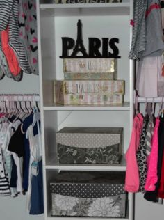 #tuesdaymorning #organization #storage #closetmakeover #paris