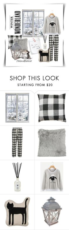"""#266 Do you still love me??"" by helena-bekker ❤ liked on Polyvore featuring Woolrich, A by Amara, Antica Farmacista, k studio, SONOMA Goods for Life and Stoneglow"
