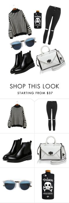 """""""Untitled #117"""" by catia-santos on Polyvore featuring beauty, Topshop, WithChic, Diane Von Furstenberg, Christian Dior and Valfré"""