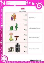 Top Middle Bottom Worksheets For Kindergarten