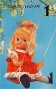 dolls on postcards - Google Search