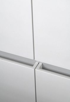 Drawer pull detail by architect Pitsou Kedem _