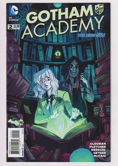 Gotham Academy; Vol 1. 2 Modern Age Comic Books, 1:25 Becky Cloonan Variant Cover Issue. NM to NM+ (9.4 - 9.6). January 2015. DC Comics #gothamacademy #variantcovers #comicsforsale