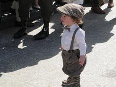 Modern Girls & Old Fashioned Men  looks like a little man