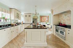 We love this spacious open-plan kitchen