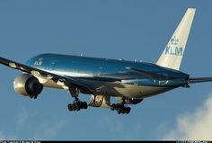 KLM Boeing B777 ✈ | Follow civil aviation on AerialTimes. Visit our boards on pinterest.com/aerialtimes or like us on www.facebook.com/aerialtimes