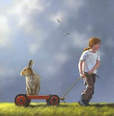 Pulling a fast one by Jimmy Lawlor - PRINT - The Keeling Gallery