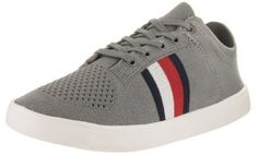 Tommy Hilfiger Men's Archer Gray Fabric Casual Shoe 11.5 Men US