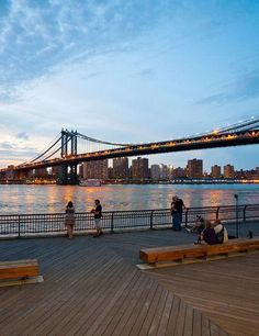 The view of Manhattan from Dumbo