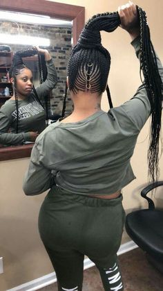 If you love braided hairdos you have to try these wonderful Fulani braids. Fulani braids was orginted by Fula peoples in Africa. Fulani braids are typica. Cool Braid Hairstyles, Black Girls Hairstyles, Twist Hairstyles, African Hairstyles, Braided Hairstyles For Black Hair, Hairstyles Pictures, Teen Hairstyles, Hair Updo, Black Girl Braids