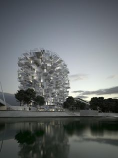 Sou Fujimoto-Led Team Designs LArbre Blanc Tree-Inspired 17 stories Housing Tower for Montpellier. Called La Folie architecturale de Richter, after the neighborhood where its going to be build. New Architecture, Cantilever Architecture, Japanese Architecture, Classical Architecture, Sou Fujimoto, Architectural Digest, Architectural Sketches, Architectural Photography, High Rise Apartments