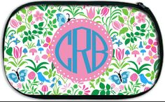 Monogrammed Carry All Bag; Travel, Camp, Swim, Beach by Pink Wasabi Ink