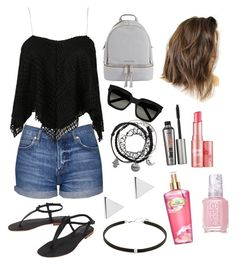 """"""""""" by sara-m-shrekgast ❤ liked on Polyvore featuring Topshop, Cocobelle, MICHAEL Michael Kors, Yves Saint Laurent, Jennifer Meyer Jewelry, Benefit, Victoria's Secret and Essie"""