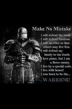 Discover and share Knights Templar Warrior Quotes. Explore our collection of motivational and famous quotes by authors you know and love. Warrior Quotes, Prayer Warrior, Great Quotes, Inspirational Quotes, Motivational, Christian Warrior, Christian Men, Christian Faith, Knights Templar