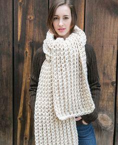 Oversized Wool Blanket Scarf by MercierMarche