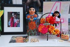 Frida Kahlo party styling
