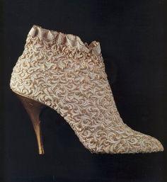 Ankle boots, Salvatore Ferragamo, 1955.