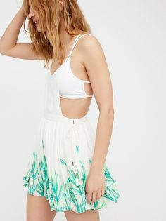 Tropical Oasis Printed Jumper from Free People!
