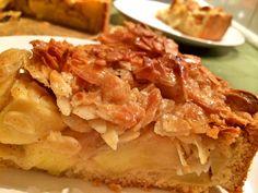 Apfelkuchenrezepte gibt es ja wie Sand am Meer. Selbst hier auf dem Blog habe ich schon mehrere eingestellt...als Käsekuchen-Variante, als leichten Kuchen,