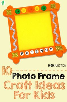 As a parent, you might agree that managing kids is a challenging task, especially when they are at home. Check out here 5 photo frame craft ideas for kids..