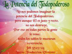 "JESUS PODEROSO GUERRERO: Job 37:23-24~~~ "" La Potencia del Todopoderoso """